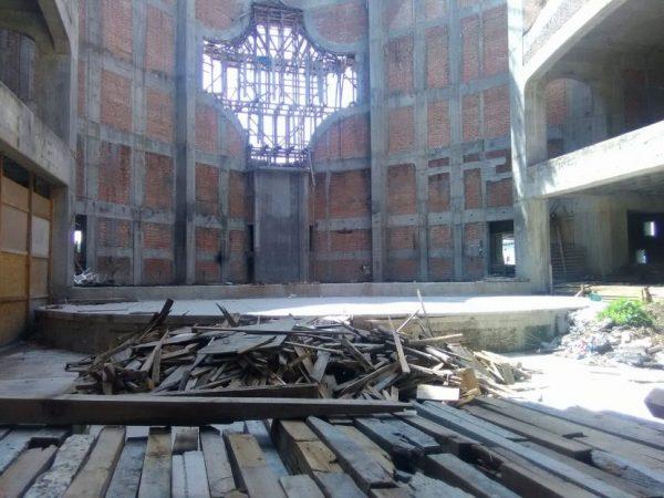Si no hay seguridad, no se reanudará la construcción de la catedral: Desarrollo Urbano