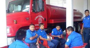 Falta de elementos y equipo, principales necesidades de Bomberos de Tuxtepec