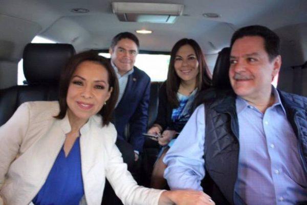 Se registra Josefina Vázquez Mota como precandidata del PAN a la gubernatura del Edomex