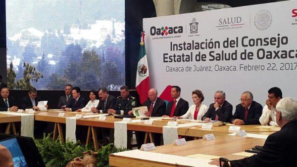 Se compromete el Gobierno Federal con el sector salud de Oaxaca