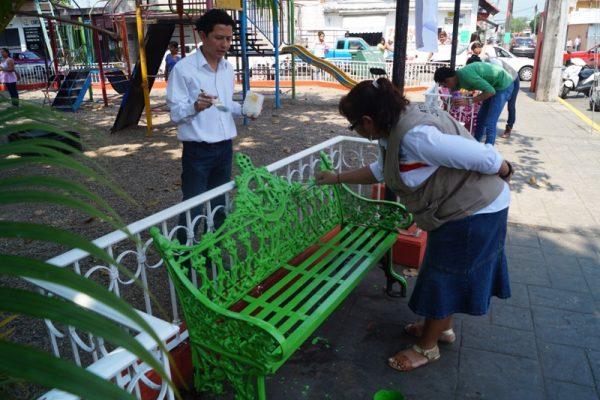 Rehabilitación del Parque Carranza parte del Lunes Ciudadano