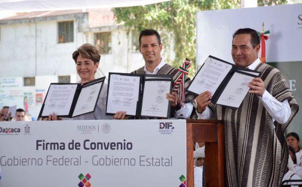Destinará Sedesol a Oaxaca más de 12 mil mdp a través de diversos programas