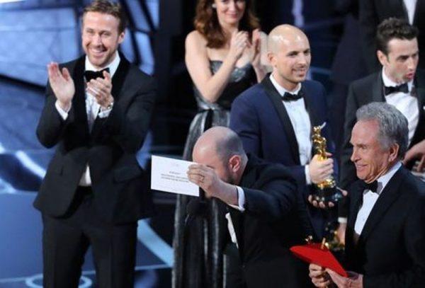 Encuentran al culpable del error en los Oscar 2017