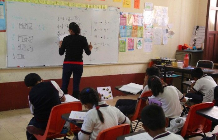 S-22 participa en actividades municipales, a cambio de beneficios para sus escuelas