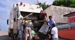 Servicio de basura, sin restablecerse completamente