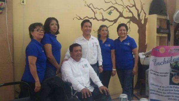 """Club Rotario lanza el programa """"Enchúlame la silla"""""""