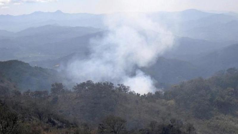 Focos rojos en incendios forestales; Nochixtlán, Huajuapan y Juxtlahuaca