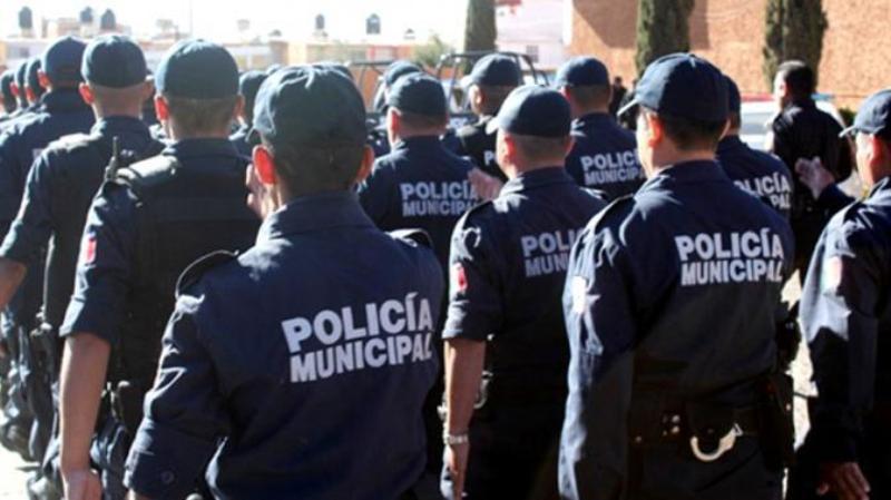 """Policía Municipal realiza """"puntos seguros"""", para prevenir la delincuencia"""