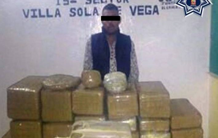 Confisca SSPO 80 kilos marihuana