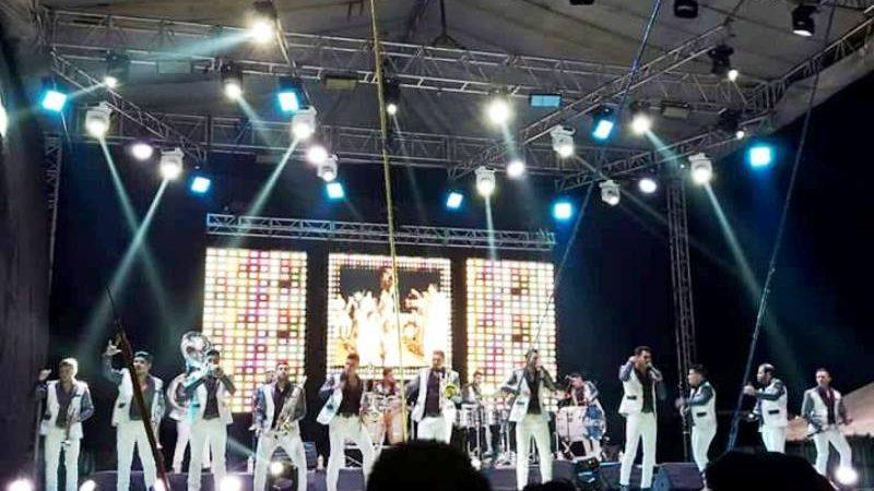 """Banda """"Los Recoditos"""" en la feria de Valle Nacional"""