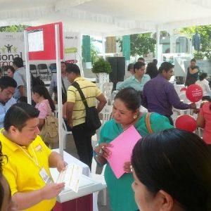 Inauguran 5ta feria nacional de empleo en Tuxtepec