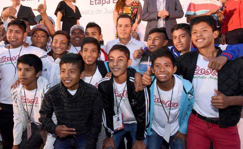 Alejandro Murat inaugura Olimpiada Nacional, Juvenil y Paralimpiada 2017
