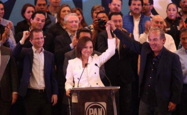 Vázquez Mota toma protesta como candidata del PAN al Edomex
