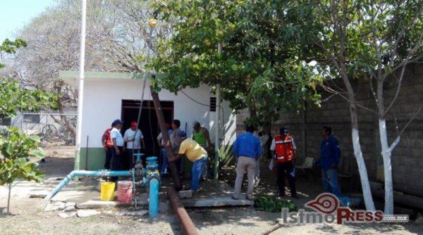 Más de 3 mil usuarios se quedan sin agua potable en Juchitán