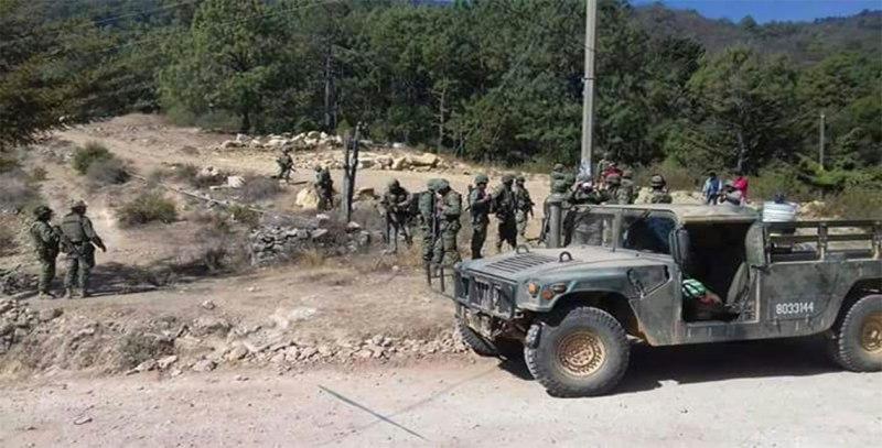 Retienen a elementos del Ejército Mexicano en población de la región Mixteca
