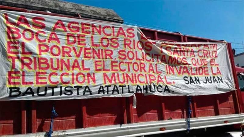 Tribunal Electoral anula elecciones en cuatro municipios