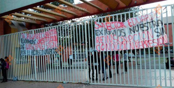Nuevamente, dejan sin clases a 23 mil universitarios de la UABJO en Oaxaca