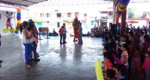 Ayuntamiento de Valle Nacional festeja el día del niño