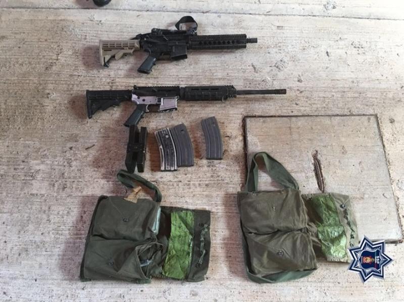 Vehículos de lujo y armas de alto poder, resultado de otro operativo en Tuxtepec