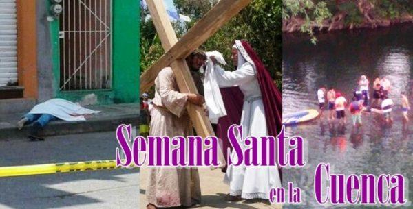 """Balaceras y un ahogado, la """"Semana Santa"""" en la Cuenca"""
