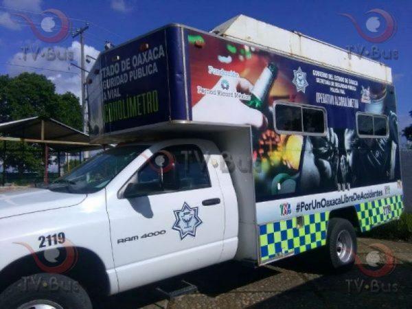 Semana Santa termina con 13 detenidos por alcoholímetro en Tuxtepec