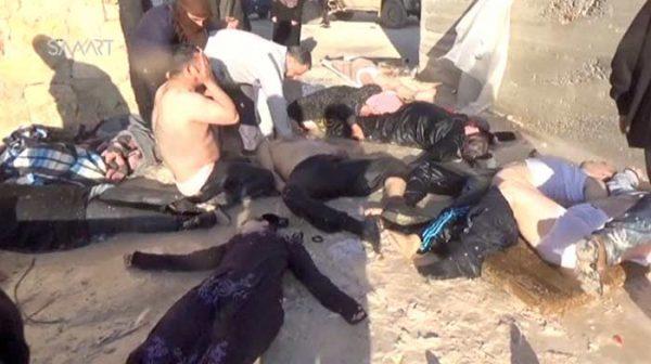 Condena mundial por ataque químico en Siria