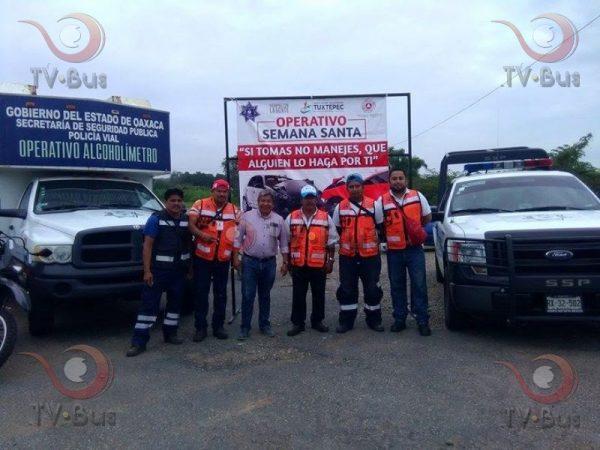 Ponen en marcha operativo Semana Santa Segura en Tuxtepec