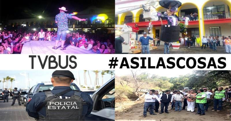 ASI LAS COSAS Pese a ola de violencia, inicia carnaval/ Refuerzan seguridad para el carnaval/ La gira de ricardez