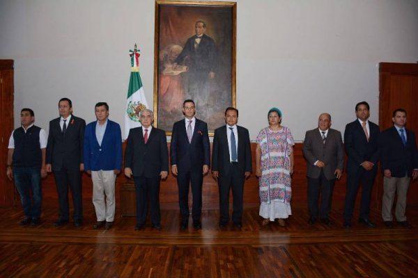 Nuevos nombramientos en el gabinete de Alejandro Murat