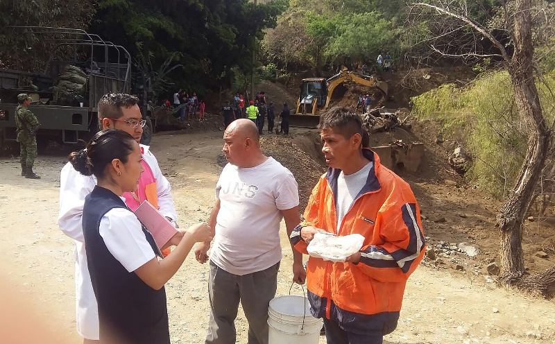 SSO atiende contingencia en Teotitlán de Flores Magón