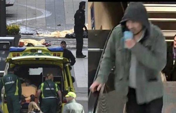 Suecia niega detención tras atentado y difunde foto de sospechoso