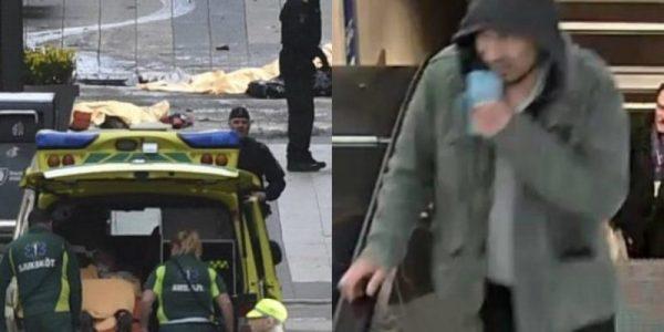 Detienen al autor del ataque en Estocolmo; es un uzbeko de 39 años