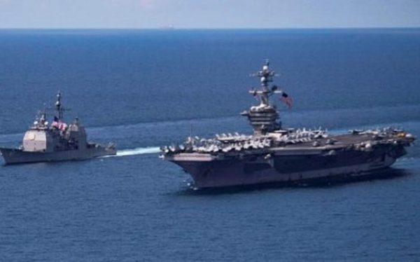 """Corea del Norte amenaza a EU con hundir su portaviones """"con un solo ataque"""""""