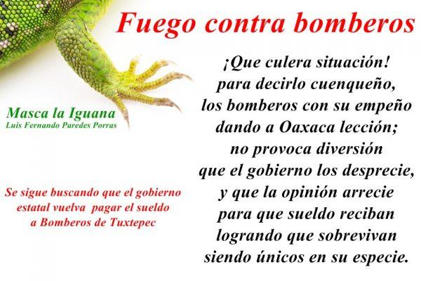 Bomberos de Tuxtepec sobreviven ante las embestidas del gobierno del estado