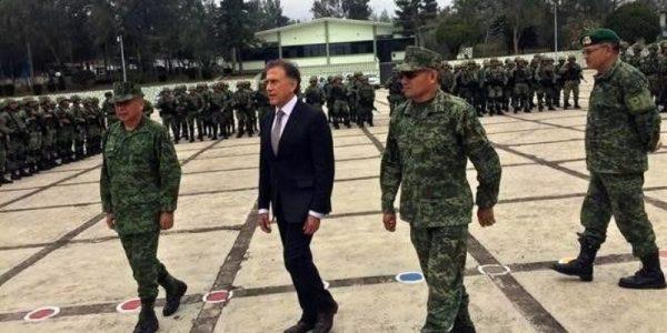Arriba Policía Militar a Veracruz