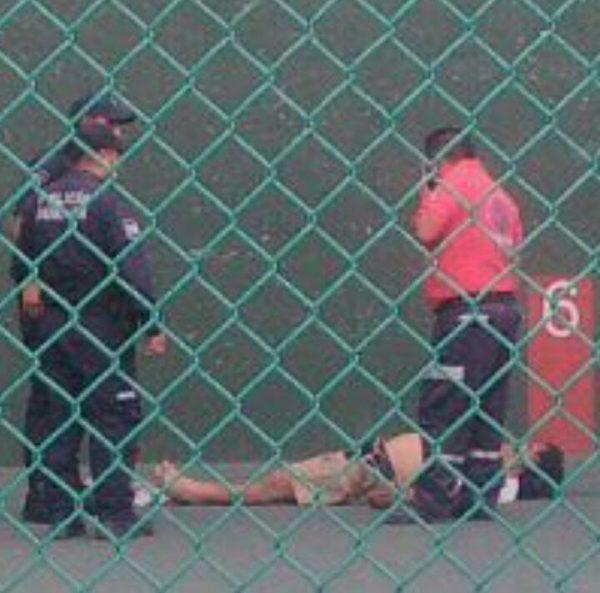 Muere hombre en polideportivo de Oaxaca