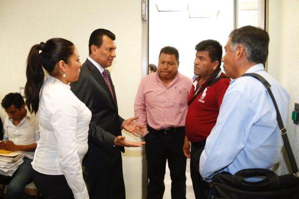 Celebran agremiados de la CNC de Huatulco acercamiento con el Diputado Samuel Gurrión
