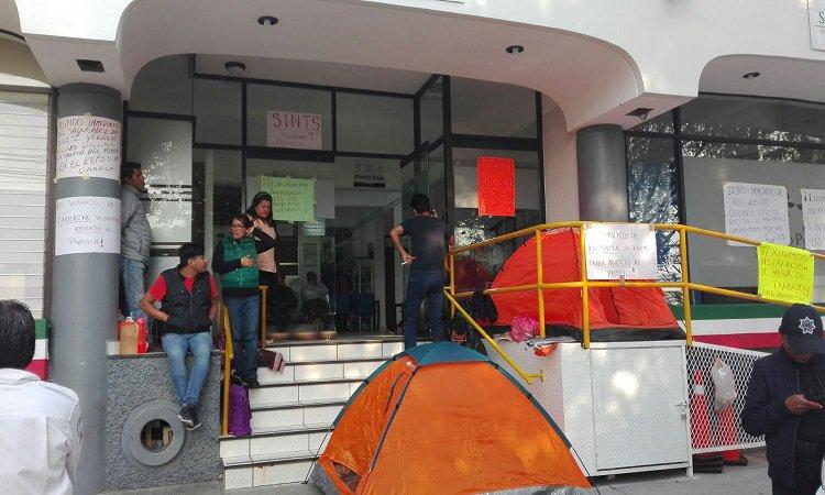 Protestan en Seguro Popular de Oaxaca