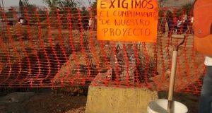 En el Parque del Amor activistas del FP-14 de Junio y CNP bloquean obras del metrobús