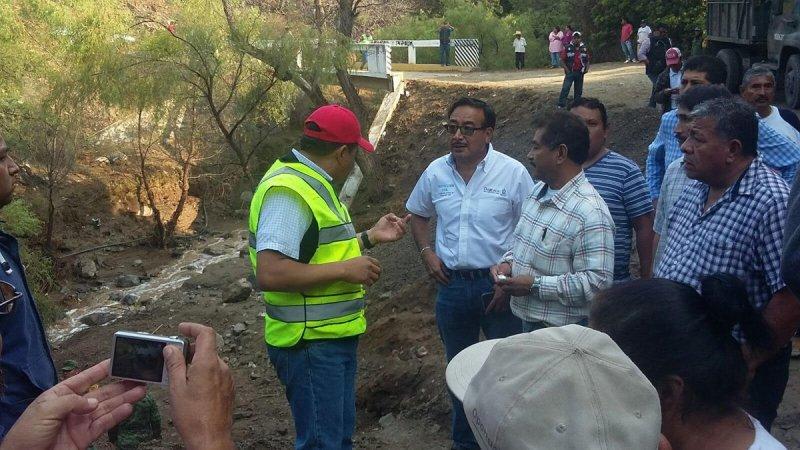 Mantiene apoyo Gobierno de Oaxaca en Teotitlán de Flores Magón