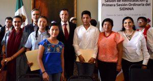 Prioritario velar por la protección integral de la niñez oaxaqueña: Alejandro Murat