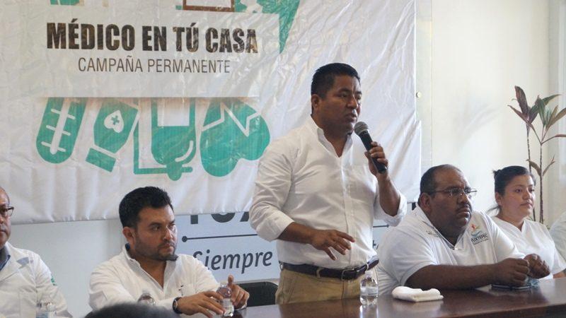 """Arranca Fernando Bautista Dávila el programa """"Médico en Tu Casa"""""""