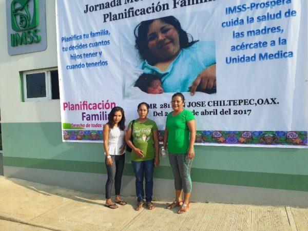 Agradecen a Irineo Molina por equipamento de aire acondicionado en UMR de Chiltepec