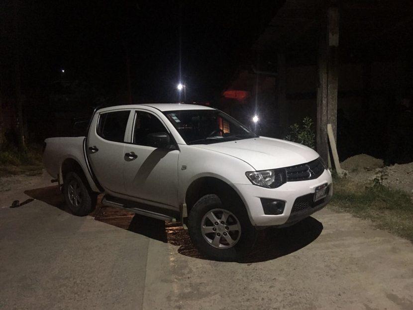 Confiscan camioneta y dos armas después de hechos violentos en Jalapa de Díaz, Oaxaca.