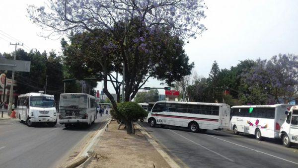 Fin de semana de bloqueos en la capital