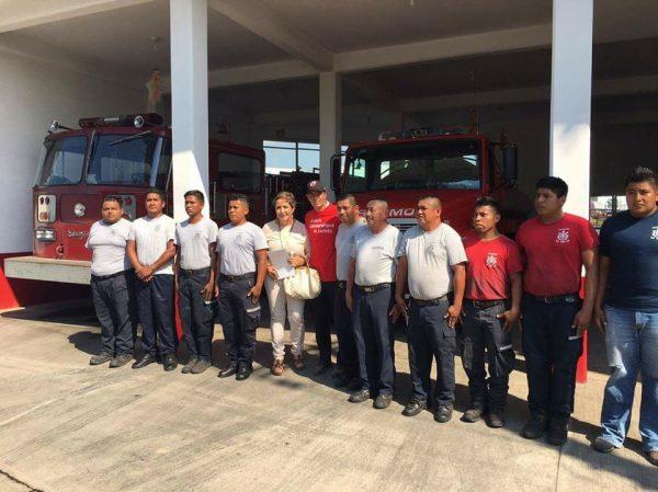 Gobierno del estado quita el sueldo a bomberos de Tuxtepec