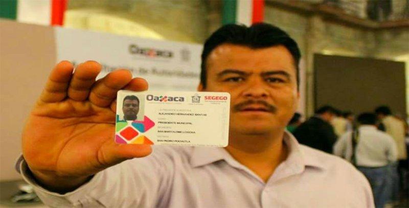 Ultiman a presidente municipal de San Bartolomé Loxicha