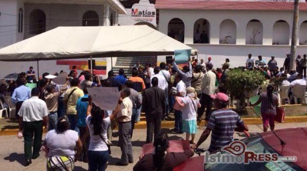 Muere líder de Ucizoni dentro de la cárcel municipal en Matias Romero