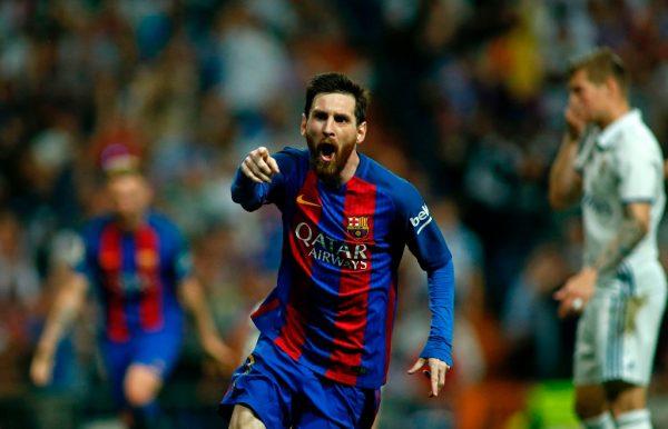 Barcelona gana 2-3 a Real Madrid