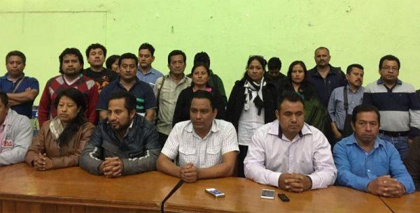 CNTE pide renuncia de funcionarios oaxaqueños